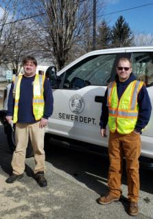 Employees at the Sewer Department