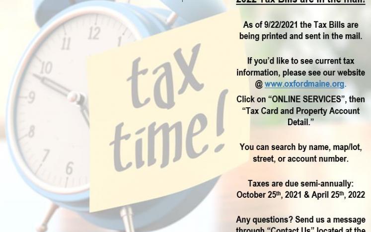 Tax, Taxes